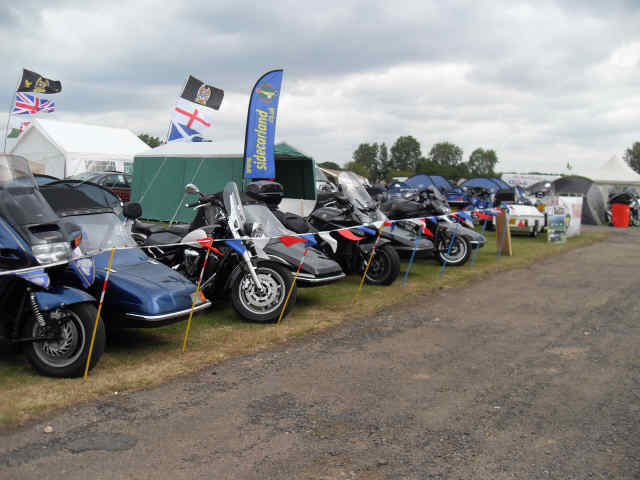 The BMF Show Club Stand 2011 – Sidecarland